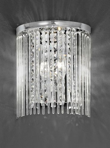 Franklite FL2310/2 Chrome Wall Light